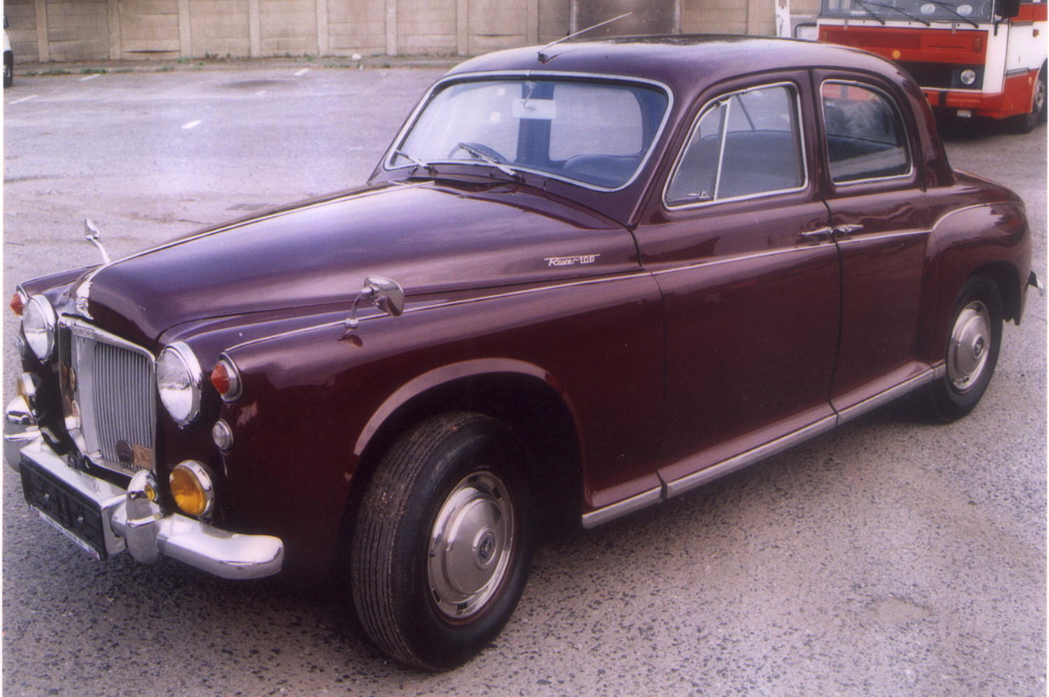 Rover P on 1974 Karmann Ghia